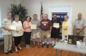 Pines Kiwanis Club Recognizes School Liaisons