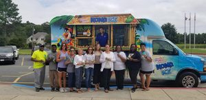 Kona Ice Truck Visits Ocean City Elementary