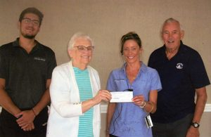 Pines Bridge Club Donates To Yacht Club Servers