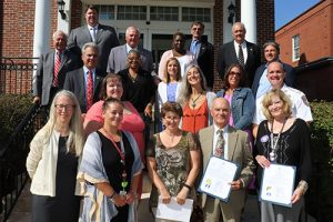 County Officials Recognize Suicide Prevention Month