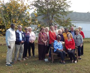 Germantown School Hosts Dedication Of Bench Donated By Republican Women Of Worcester