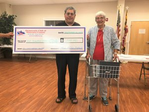 Democratic Club of Worcester County Donate To Build Ocean City Cold Weather Shelter