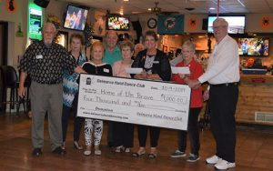 Delmarva Hand Dance Club Donates To Home Of The Brave Foundation