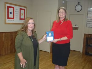 Parsons Named American Legion Auxiliary Member Of The Year