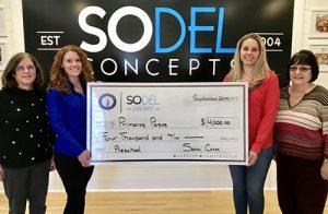 SoDel Cares Donates $4,000 To Primeros Pasos