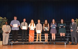 Stephen Decatur  Students Receive Presidential Service Gold Award