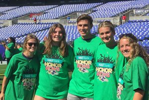 Decatur National Honor Society Recognized At Baltimore Ravens Game