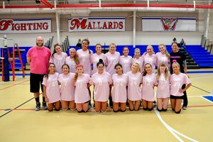 Worcester Prep Volleyball Team Hosts Cancer Fundraiser