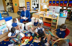 Worcester Kindergarten Teachers Institute New 'Read To Self' Program