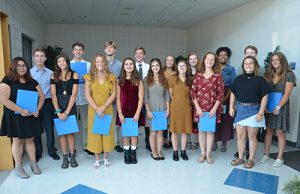 National English Honor Society Inducts New Members From Stephen Decatur