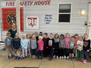 Ocean City Elementary Students Participate In Fire Prevention Week