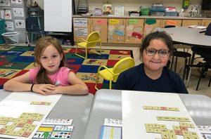 Ocean City Elementary Second Graders Work On Building Words