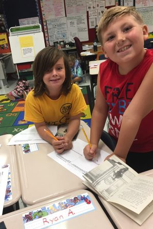 Showell Elementary Students Demonstrate Understanding Of 'Stone Fox'