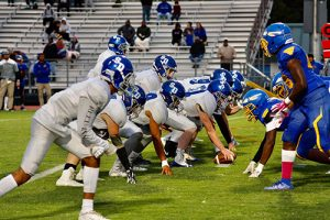Seahawks Drubbed By Wicomico, 57-7