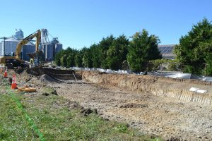 Submerged Gravel Wetland Project Underway In Berlin