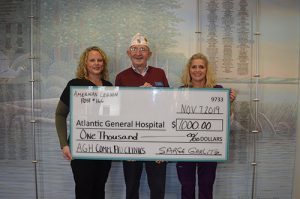 American Legion #116 And Auxiliary Donate To AGH Flu Community Clinics