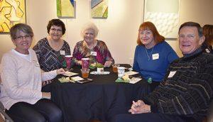 Art League Of OC Holds Annual Volunteer Tea