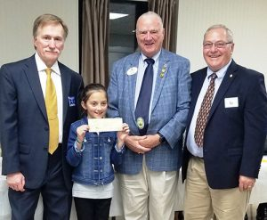 Lions Club Donates $1,500 To Lions Vision Research Foundation