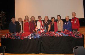 "DAR Donate Blankets To Coastal Hospice's  ""We Honor Veterans"" Program"