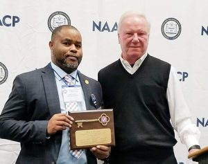 Worcester County NAACP President Ivory Smith Receives Key To Ocean City