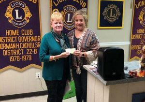 Ocean City Lioness Club Donate To Sarah's Pantry