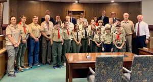 Outstanding Eagle Scout Honored