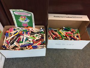 Student Brings Crayola Recycle Effort To Worcester