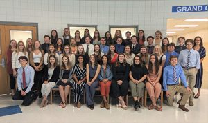 45 Decatur Students Inducted Into Rho Kappa National Social Studies Honor Society