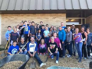 BIS Staff & Students Participate In After School Courtyard Cleanup Club
