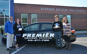Sperry And Catrino Named Premier Driving School Athletes Of The Month