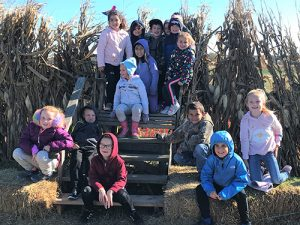 OCES First Graders Take Field Trip