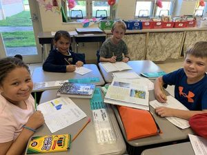 Ocean City Elementary Third Graders Learn About Physical Features, Climate, Resources While Making Brochures