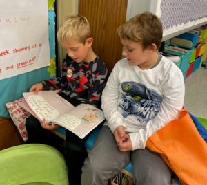 "Showell Students Meet ""Buddy Readers"""