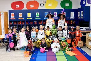 Worcester Prep Pre-K Have In-School Trick-Or-Treat