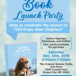 BOOK LAUNCH PARTY FLYER DESIGN MODIFIED