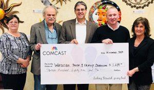 Comcast Donates To WYFC