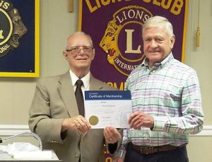 OC Lions Welcome New  Member