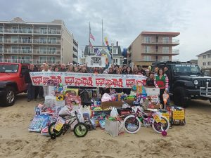 OC Jeep Club Holds 3rd Annual Toys For Tots Drive