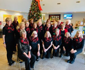 Line Dancers Hold Annual Holiday Luncheon