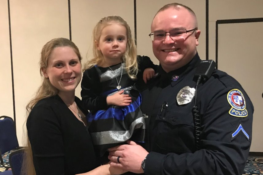 Community Steps Up For OC Police Officer's Family