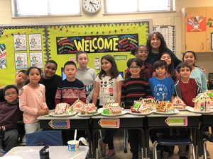 OCES Fourth Grade Apply Geometry Lessons To Building Gingerbread Houses