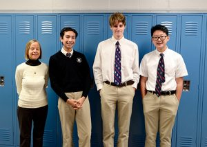 Worcester Prep Places Third AT High School Mathematics Competition