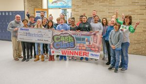 "BIS Students From Mrs. Hill's Class Win $1,000 From Hertrich For ""Cash For Class"" Contest Video"