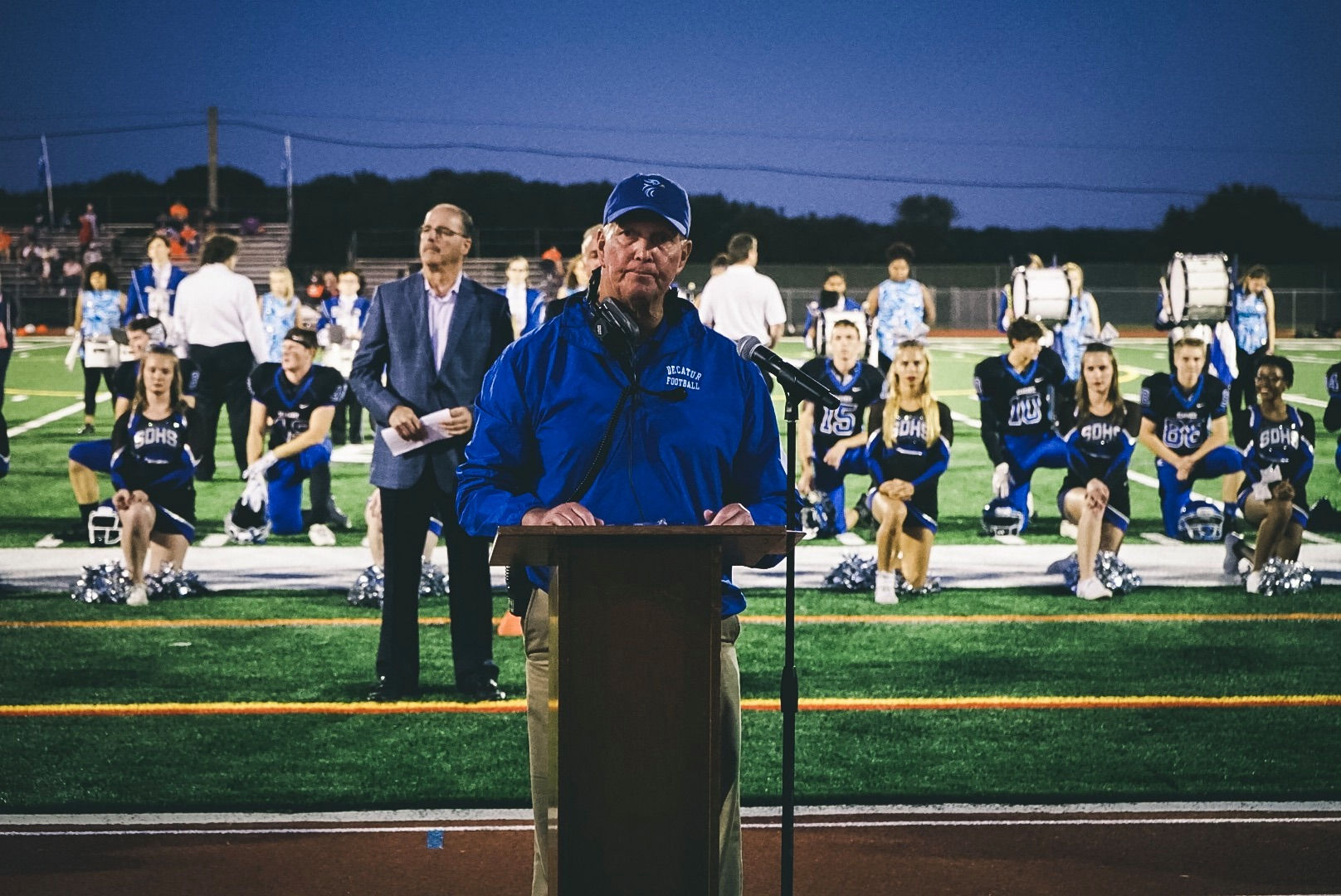 Long-Time Decatur Football Coach Announces Retirement