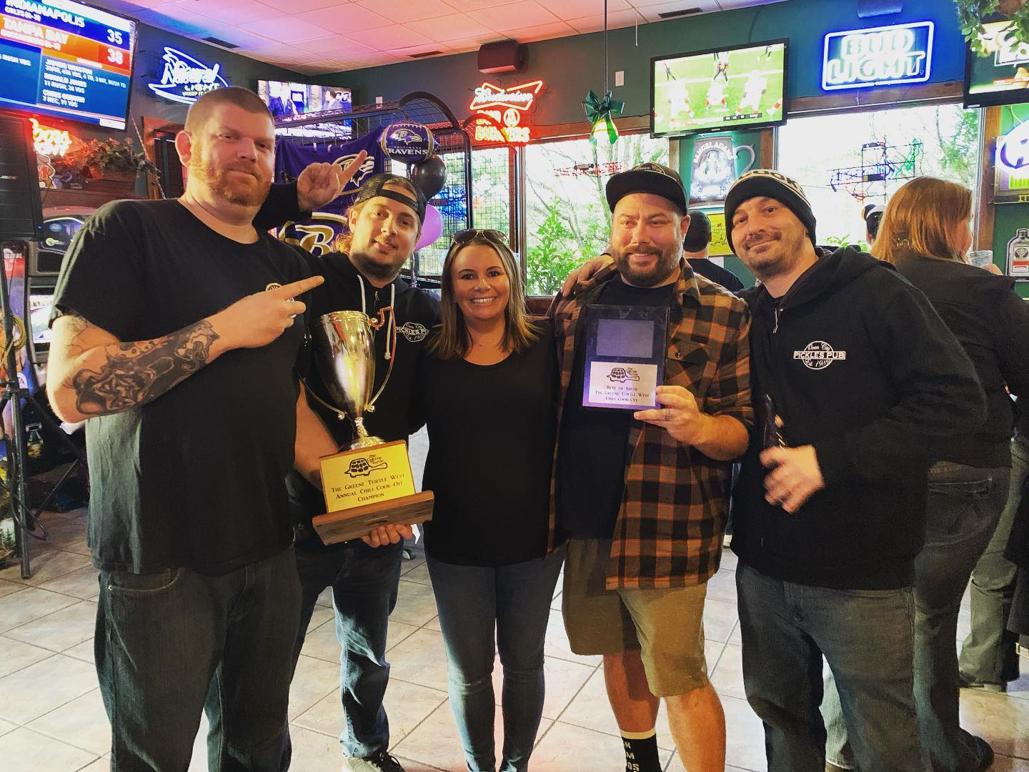 Pickles Pub Repeats At Chili Cookoff Fundraiser