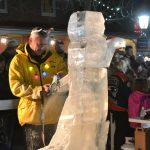 res tree lighting ice carver