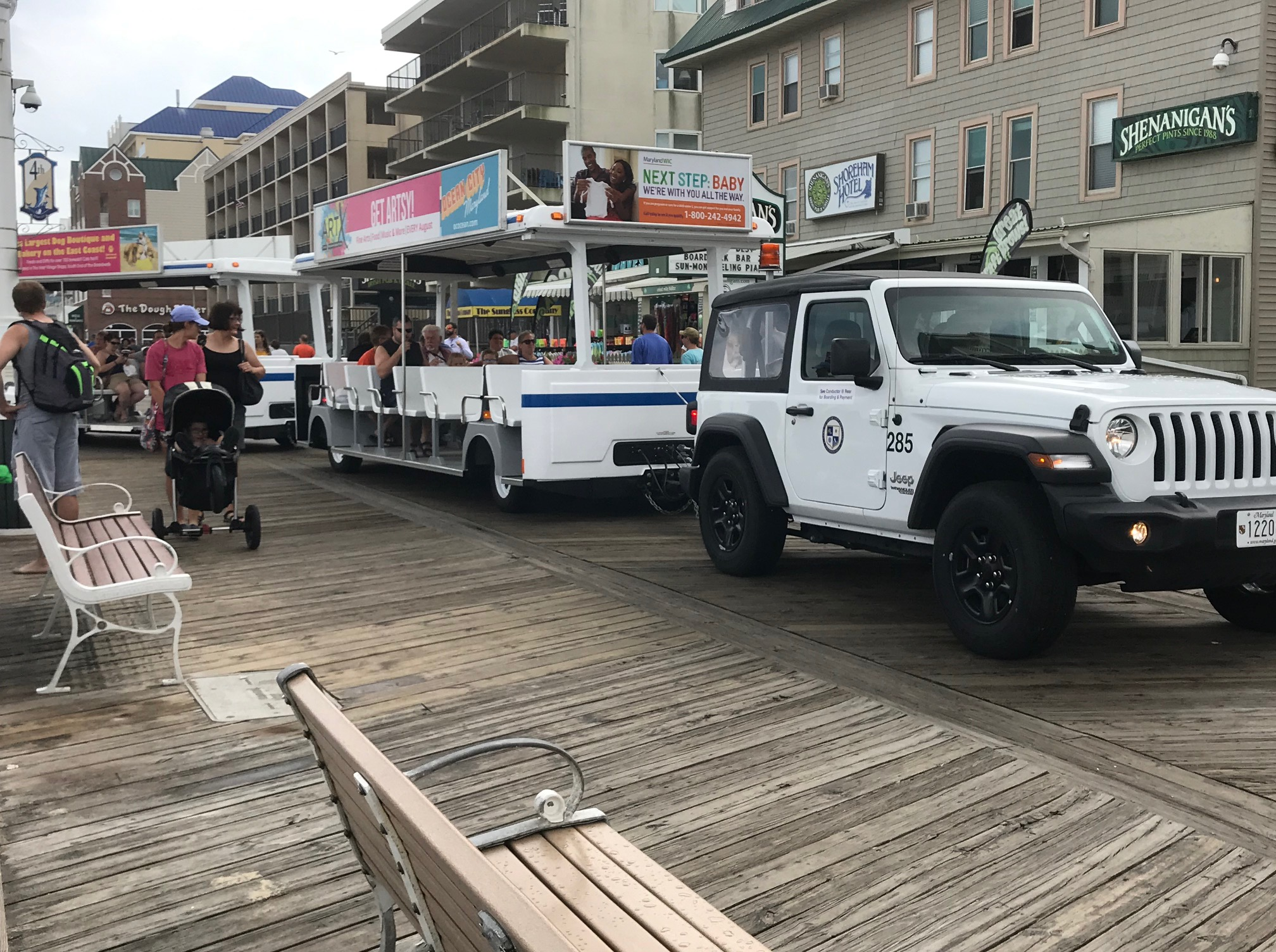 Boardwalk Tram Officially Shut Down For Summer