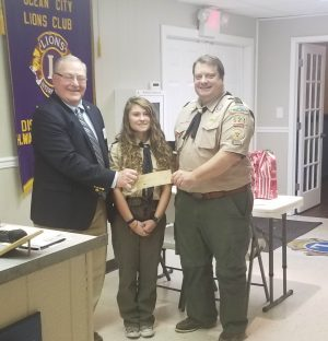 OC Lions Donate To Scout Troop 621