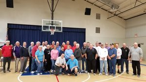 "Elks Lodge 2645 Holds ""Hoop Shoot"" At Worcester Prep"