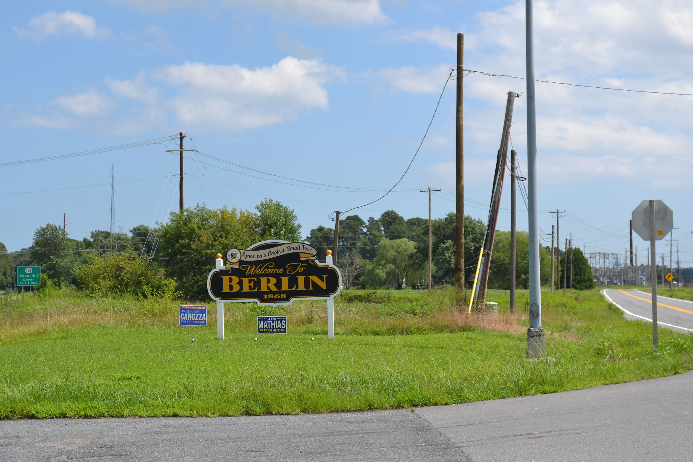 Rezoning To Bring Commercial Uses To 'Berlin Gateway'